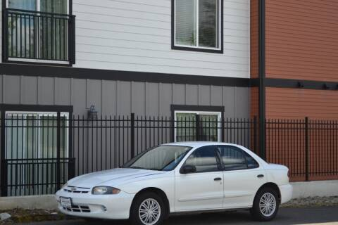2003 Chevrolet Cavalier for sale at Skyline Motors Auto Sales in Tacoma WA