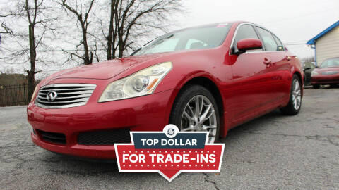 2007 Infiniti G35 for sale at NORCROSS MOTORSPORTS in Norcross GA