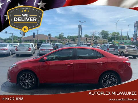 2016 Toyota Corolla for sale at Autoplex 2 in Milwaukee WI
