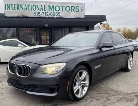 2013 BMW 7 Series for sale at International Motors Inc. in Nashville TN