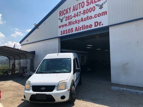 2013 Ford Transit Connect for sale at Ricky Auto Sales in Houston TX