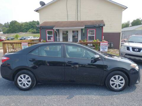 2016 Toyota Corolla for sale at PENWAY AUTOMOTIVE in Chambersburg PA