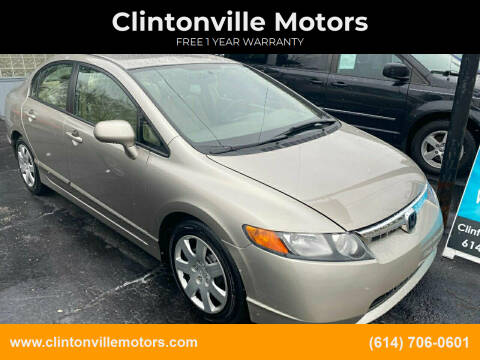 2006 Honda Civic for sale at Clintonville Motors in Columbus OH