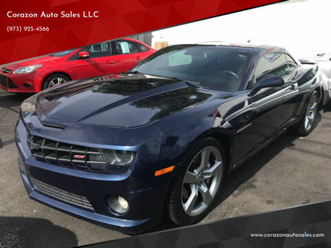 2010 Chevrolet Camaro for sale at Corazon Auto Sales LLC in Paterson NJ