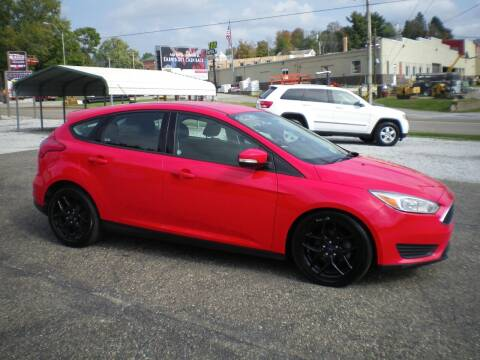 2017 Ford Focus for sale at Starrs Used Cars Inc in Barnesville OH