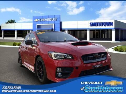2017 Subaru WRX for sale at CHEVROLET OF SMITHTOWN in Saint James NY