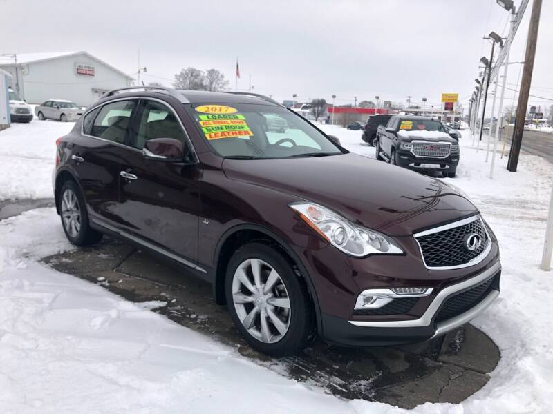 2017 Infiniti QX50 for sale at Ancil Reynolds Used Cars Inc. in Campbellsville KY