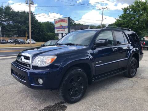 2006 Toyota 4Runner for sale at Beachside Motors, Inc. in Ludlow MA