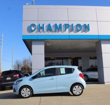 2016 Chevrolet Spark for sale at Champion Chevrolet in Athens AL