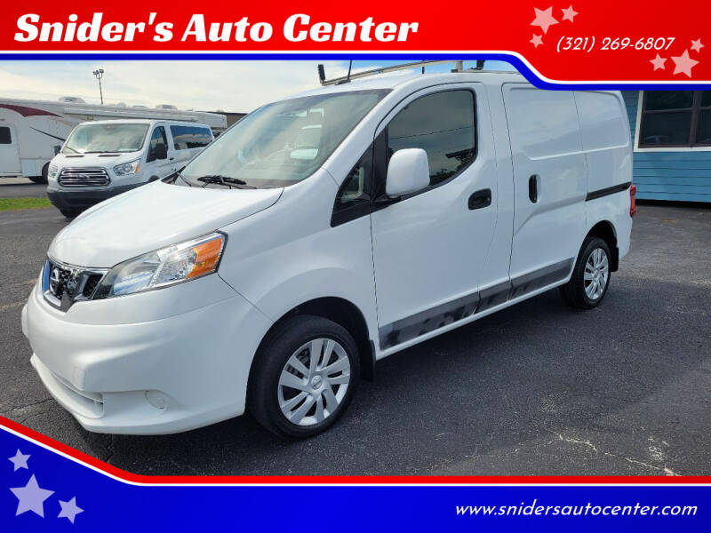 2016 Nissan NV200 for sale at Snider's Auto Center in Titusville FL