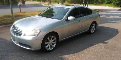 2007 Infiniti M35 for sale at Georgia Fine Motors Inc. in Buford GA