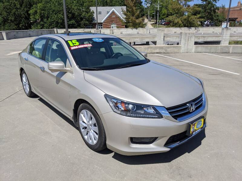 2015 Honda Accord for sale at QC Motors in Fayetteville AR
