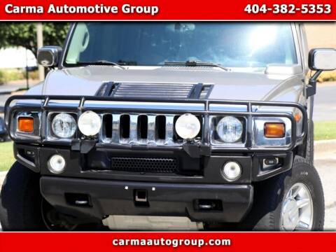 2003 HUMMER H2 for sale at Carma Auto Group in Duluth GA