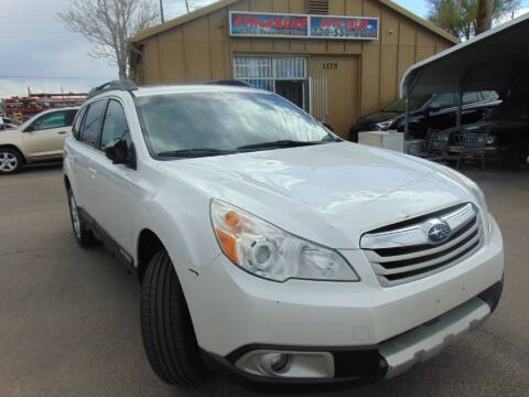 2012 Subaru Outback for sale at Avalanche Auto Sales in Denver CO