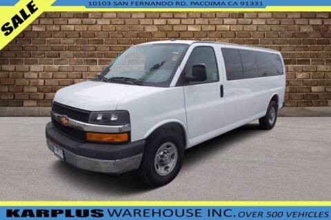 2015 Chevrolet Express Passenger for sale at Karplus Warehouse in Pacoima CA