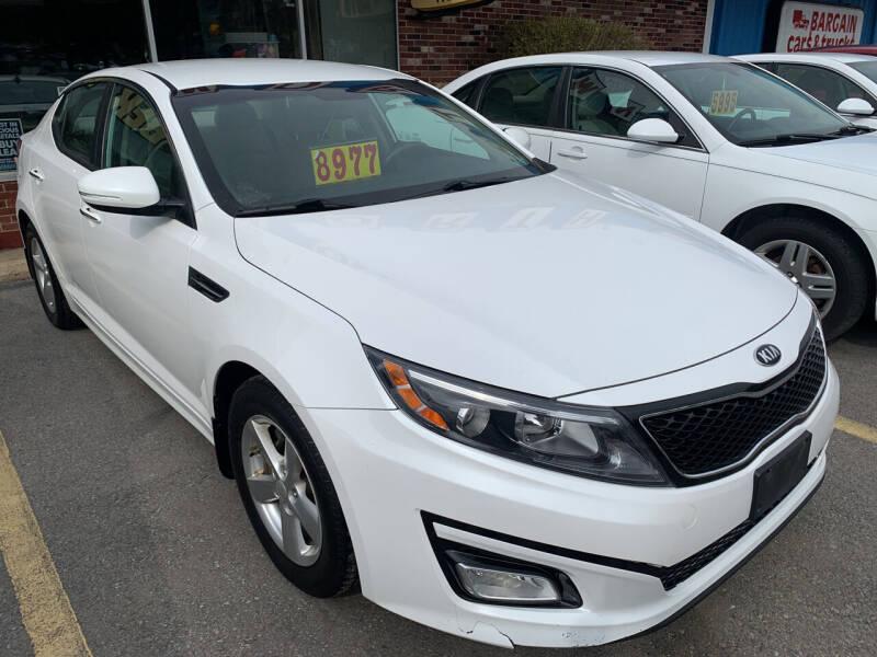 2015 Kia Optima for sale at BURNWORTH AUTO INC in Windber PA