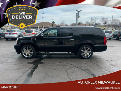 2007 Cadillac Escalade ESV for sale at Autoplex Milwaukee in Milwaukee WI