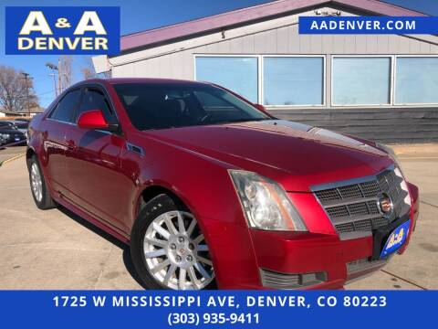 2011 Cadillac CTS for sale at A & A AUTO LLC in Denver CO