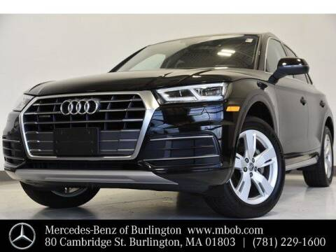 2018 Audi Q5 for sale at Mercedes Benz of Burlington in Burlington MA