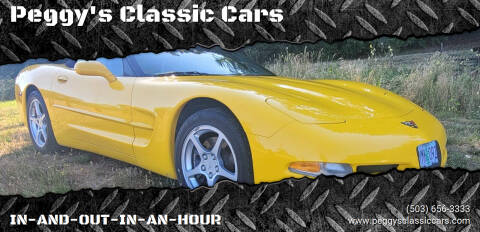 2000 Chevrolet Corvette for sale at Peggy's Classic Cars in Oregon City OR