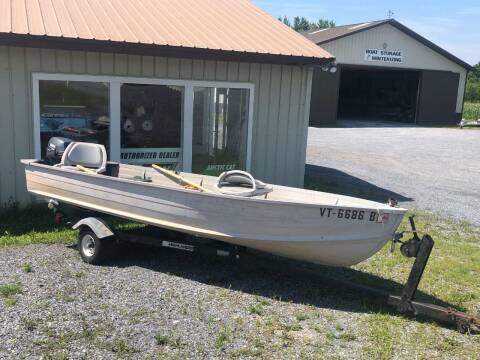 1975 Starcraft 14' Fishing Boat for sale at Champlain Valley MotorSports in Cornwall VT
