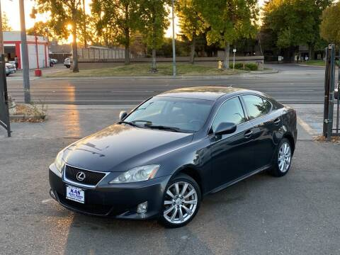 2007 Lexus IS 250 for sale at KAS Auto Sales in Sacramento CA