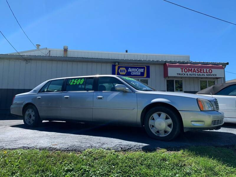 2000 Cadillac DeVille for sale at Tomasello Truck & Auto Sales, Service in Buffalo NY