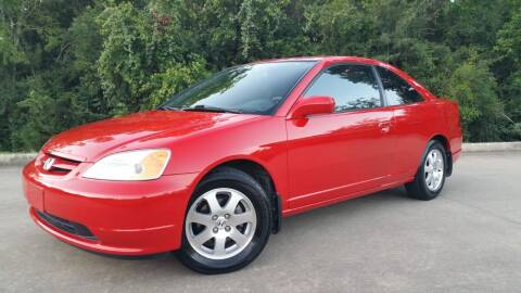 2003 Honda Civic for sale at Houston Auto Preowned in Houston TX