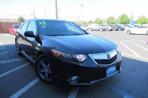 2012 Acura TSX for sale at Choice Auto & Truck in Sacramento CA