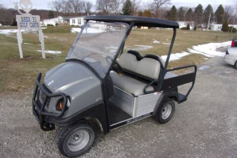 2017 Club Car Carry All 300 Gas EFI 4 Pass for sale at Area 31 Golf Carts - Gas Utility Carts in Acme PA