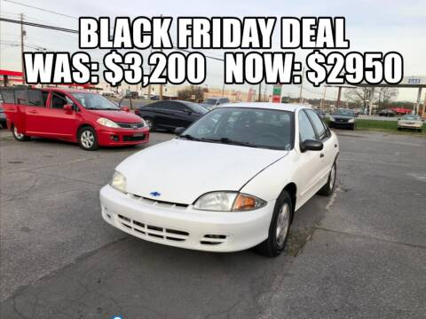 2002 Chevrolet Cavalier for sale at AZ AUTO in Carlisle PA