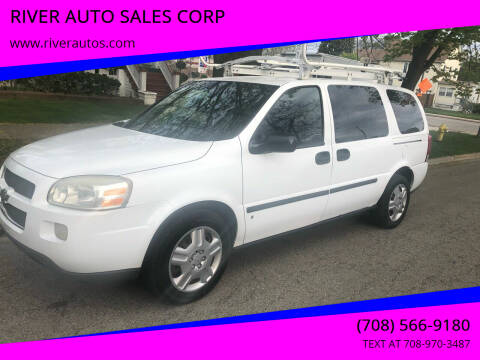 2008 Chevrolet Uplander for sale at RIVER AUTO SALES CORP in Maywood IL