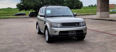 2010 Land Rover Range Rover Sport for sale at America's Auto Financial in Houston TX