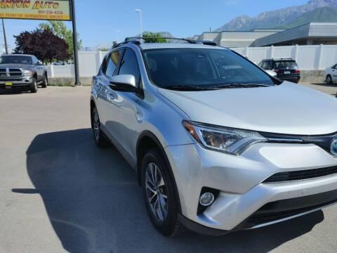 2016 Toyota RAV4 Hybrid for sale at Canyon Auto Sales in Orem UT