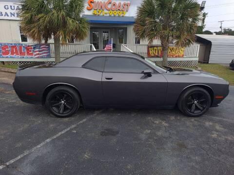 2019 Dodge Challenger for sale at Sun Coast City Auto Sales in Mobile AL