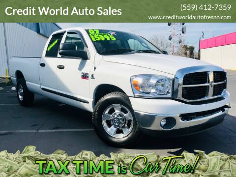 2007 Dodge Ram Pickup 2500 for sale at Credit World Auto Sales in Fresno CA