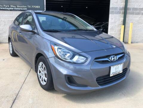 2014 Hyundai Accent for sale at KAYALAR MOTORS - ECUFAST HOUSTON in Houston TX