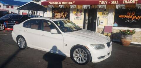 2011 BMW 3 Series for sale at ANYTHING ON WHEELS INC in Deland FL