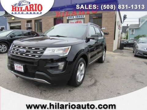 2016 Ford Explorer for sale at Hilario's Auto Sales in Worcester MA