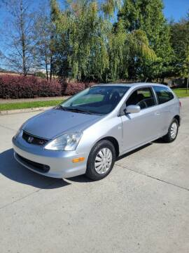 2002 Honda Civic for sale at RICKIES AUTO, LLC. in Portland OR
