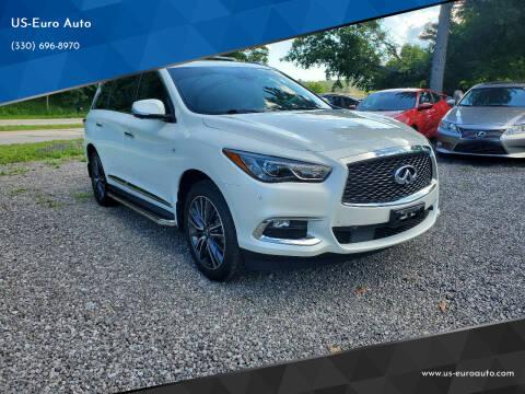 2019 Infiniti QX60 for sale at US-Euro Auto in Burton OH