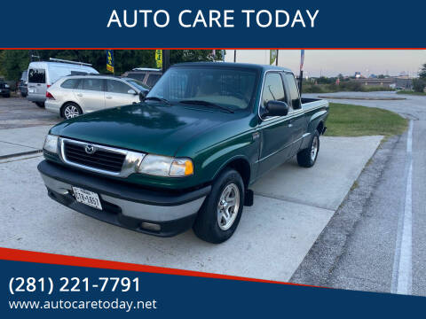 1999 Mazda B-Series Pickup for sale at AUTO CARE TODAY in Spring TX