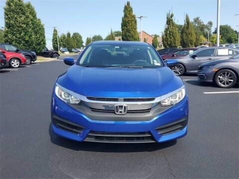 2016 Honda Civic for sale at Southern Auto Solutions - Lou Sobh Honda in Marietta GA