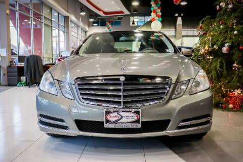 2012 Mercedes-Benz E-Class for sale at Quality Auto Center in Springfield NJ