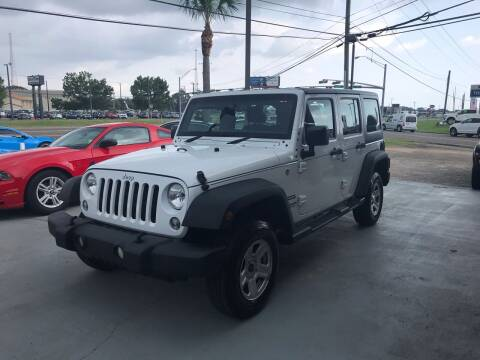2016 Jeep Wrangler Unlimited for sale at Advance Auto Wholesale in Pensacola FL