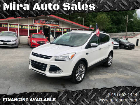 2015 Ford Escape for sale at Mira Auto Sales in Raleigh NC