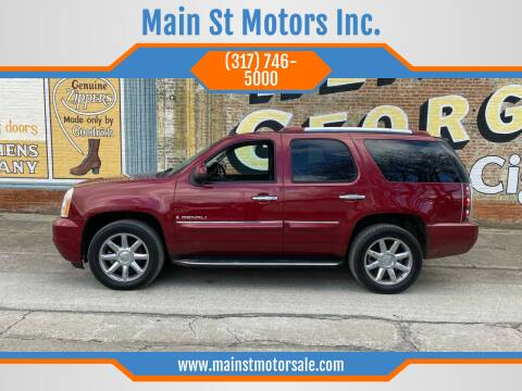2008 GMC Yukon for sale at Main St Motors Inc. in Sheridan IN