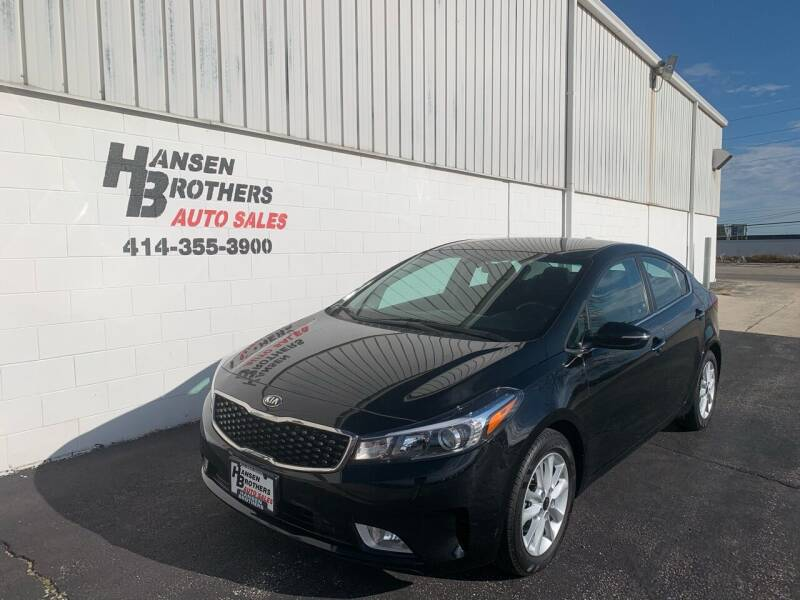2017 Kia Forte for sale at HANSEN BROTHERS AUTO SALES in Milwaukee WI