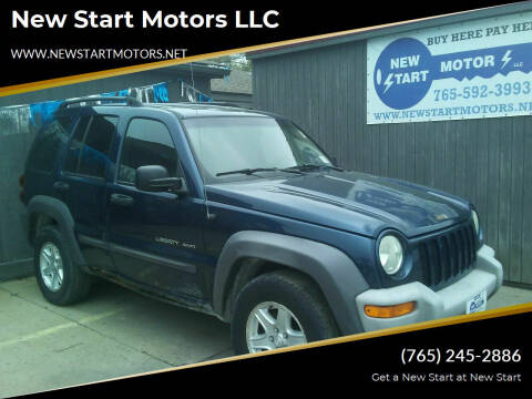 2002 Jeep Liberty for sale at New Start Motors LLC - Crawfordsville in Crawfordsville IN