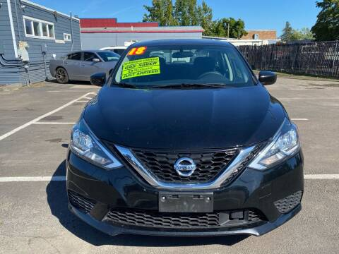 2018 Nissan Sentra for sale at Low Price Auto and Truck Sales, LLC in Salem OR